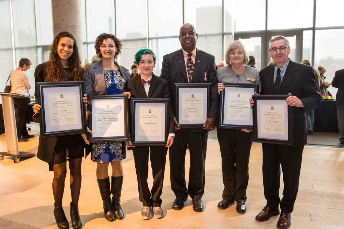 2016 Nova Scotia Human Rights Award Recipients