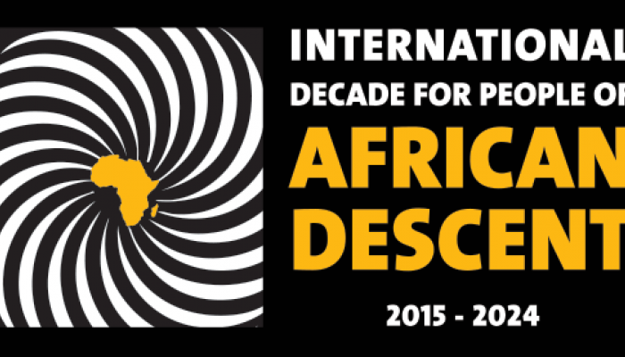 International Decade for People of African Decent Poster
